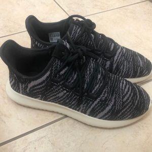 adidas black running shoes tubular tennis shoes